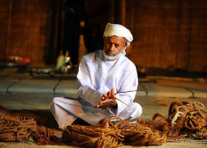 Emiratisches Kunsthandwerk Abu DHabi