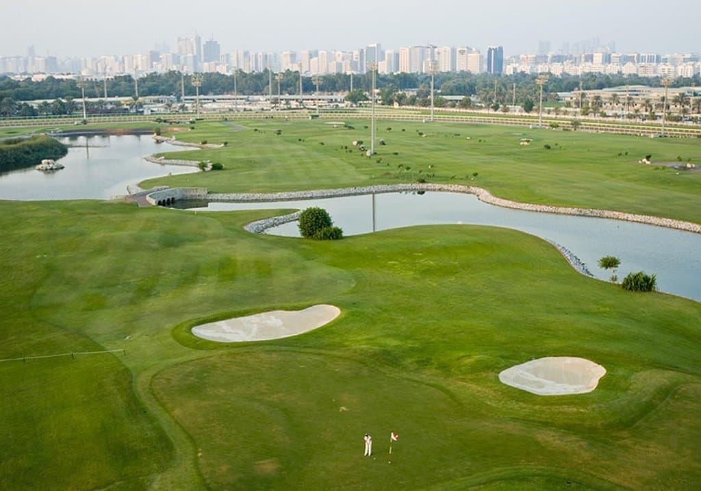 Golfen in Abu Dhabi City