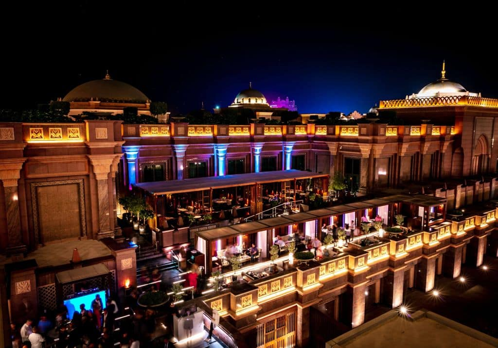 Hakkasan Terrace Emirates Palace