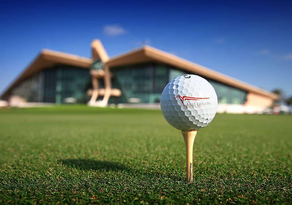 Tee Abu Dhabi Golf Club