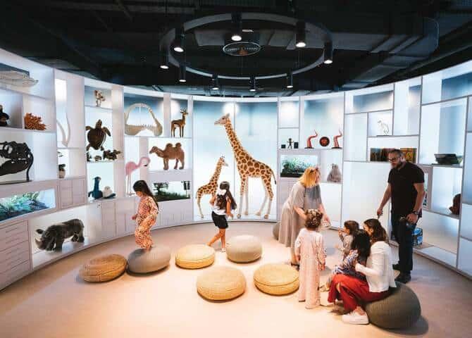 Kinderbibliothek Abu Dhabi