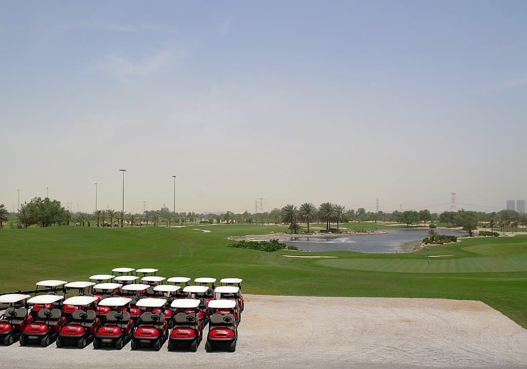 Golfplatz Abu Dhabi