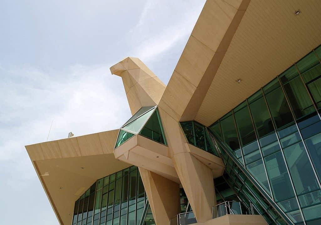 Clubhaus Abu Dhabi Golf