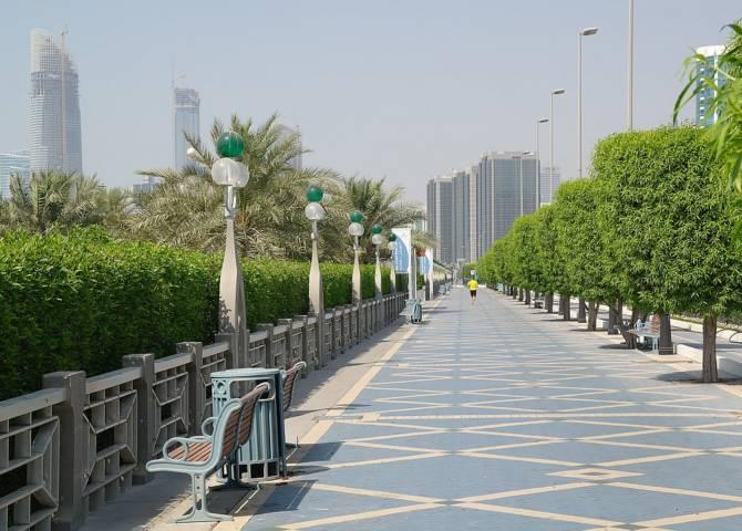 Abu Dhabi Promenade Corniche