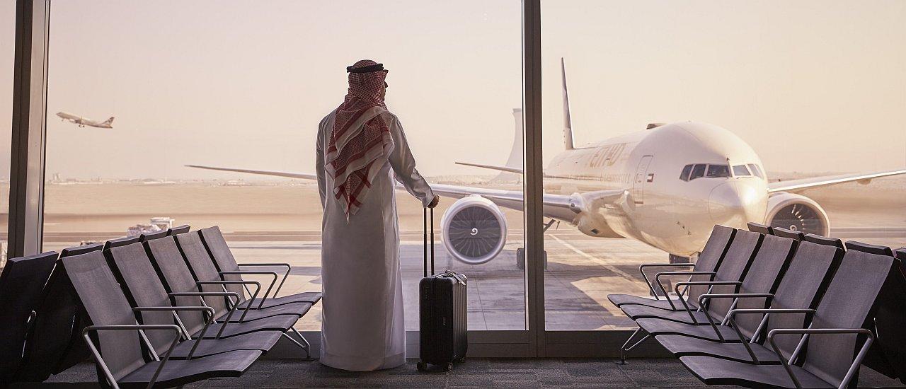 AUH-Flughafen Einreise