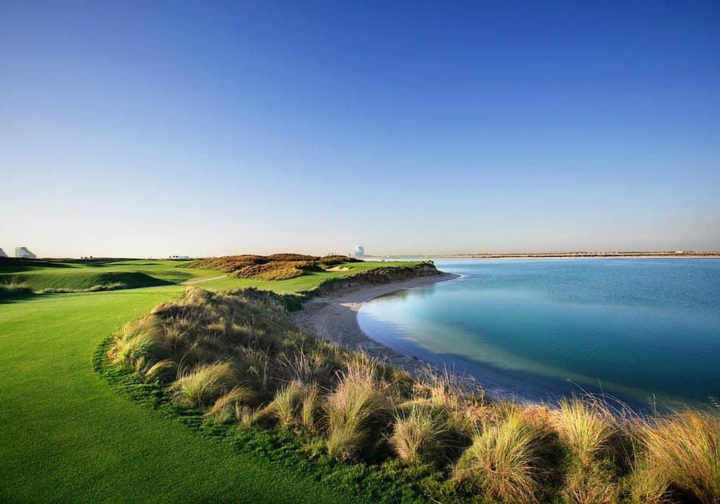 Yas Golfplatz Abu Dhabi