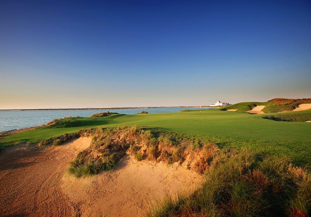 Golfplatz auf Yas Island Abu Dhabi
