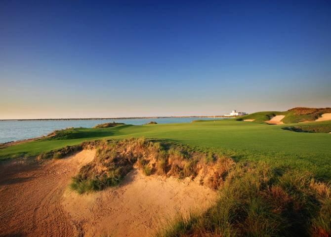 Golfplatz auf Yas Island