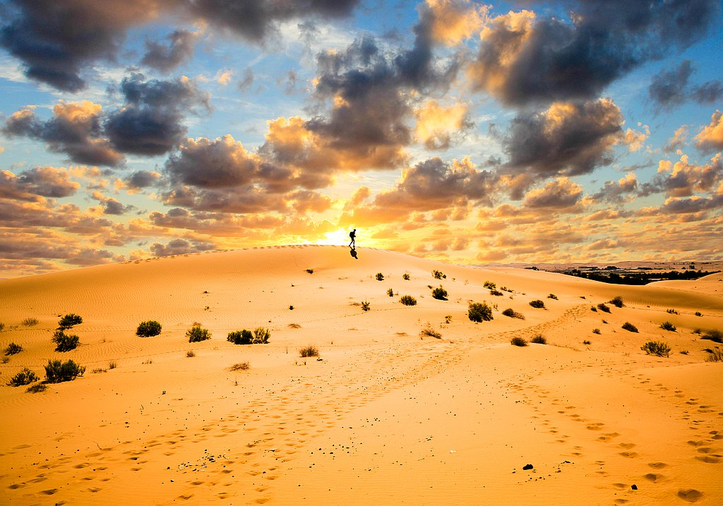 Wüste Sand Abu Dhabi