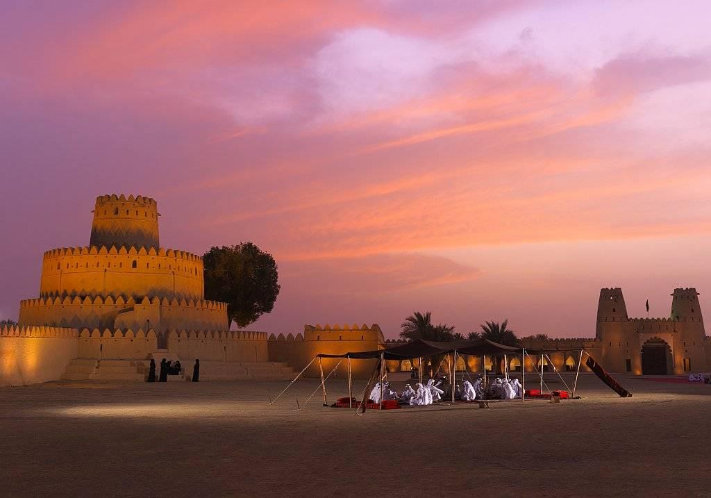 Al JAhili Fort in Al Ain im EMirat Abu Dhabi