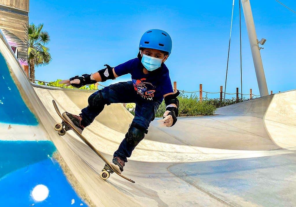Kids Skating Abu Dhabi