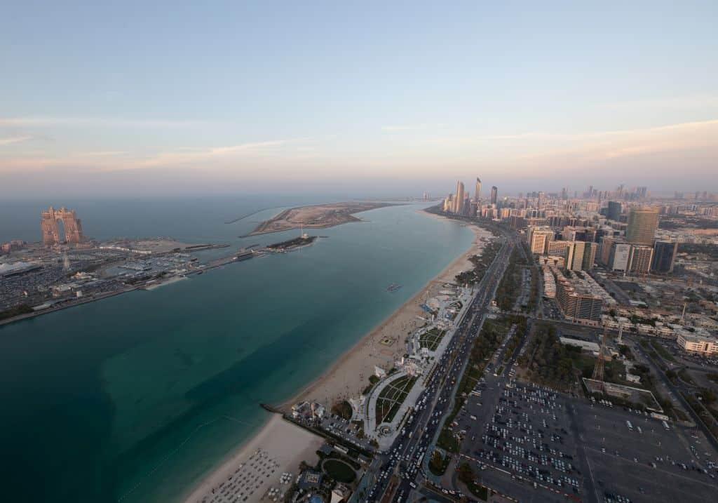 Stranpromenade Abu Dhabi