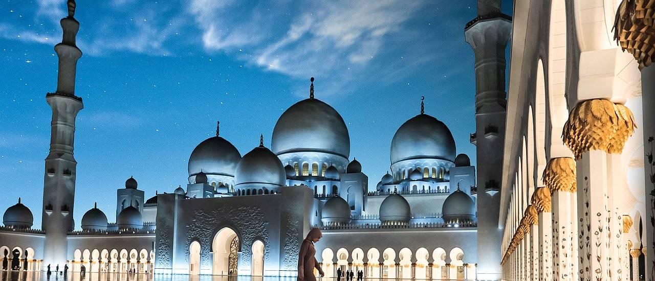 Abu Dhabi DCTA Moschee