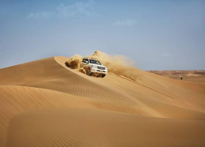 Dune Bashing Abu Dhabi