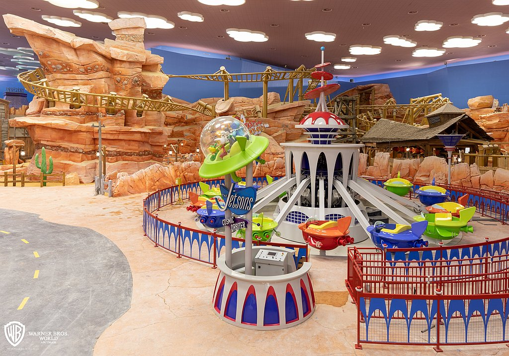 Warner Bros. World Abu Dhabi Dynamite Gulch