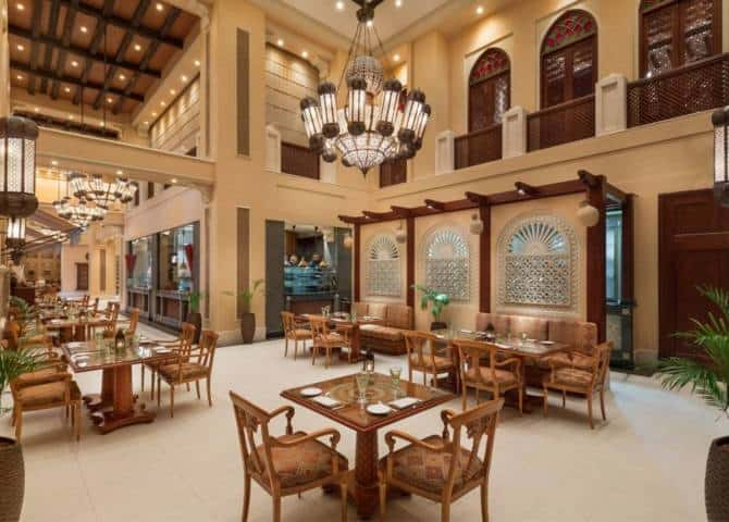Emirates Palace Mezlai Restaurant