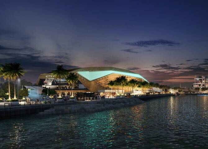 Etihad Arena Abu Dhabi