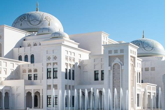 Qasr Al Watan – Abu Dhabis prunkvoller Präsidentenpalast