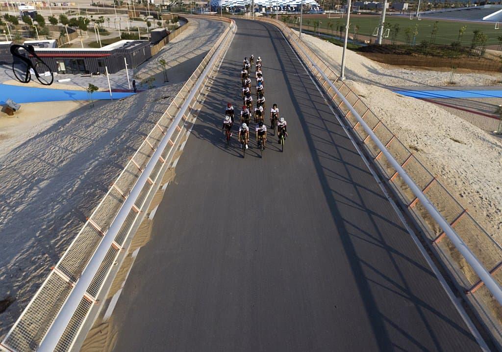 Cycling Track Abu Dhabi