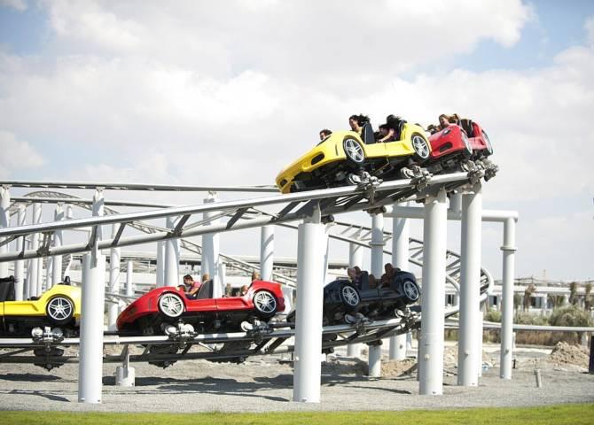Ferrari World Abu Dhabi Achterbahn