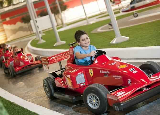 Ferrari World Abu Dhabi Gokart