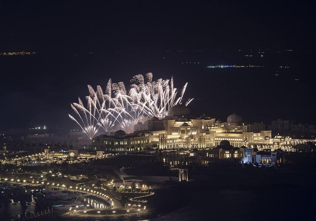 Qasr Al Watan Feuerwerk