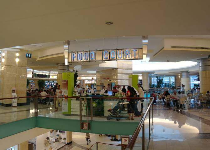 Food Court Abu Dhabi Mall