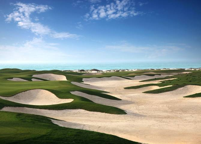 Golf Saadiyat Abu Dhabi