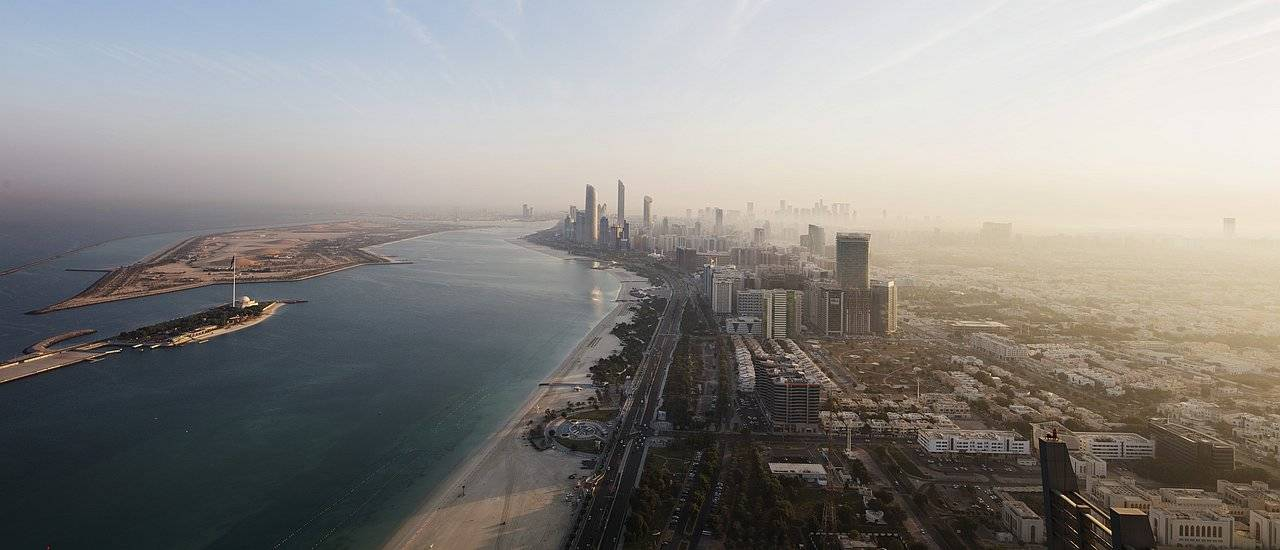 Blic kauf Abu Dhabi und die Corniche