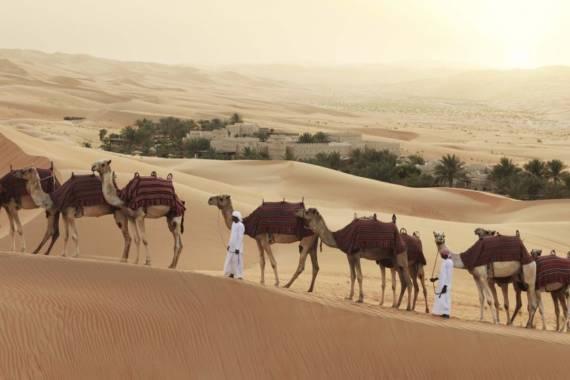 Rub al-Khali Wüste und Liwa Oase