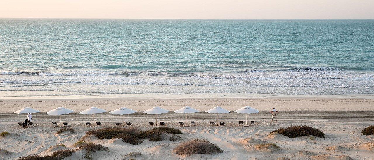 Sonnenschein Abu Dhabi
