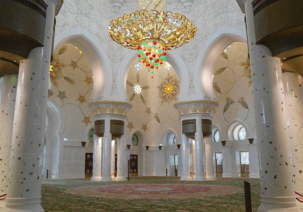 RAum Kronleuchter Moschee