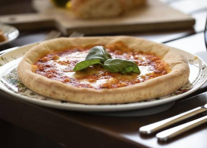 Pizza im Terra Secca