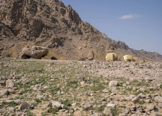 Jebel Hafit Desert Park Al Ain archäologische Siedlung