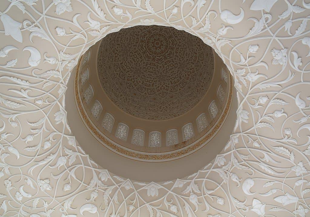 Kuppel Sheikh Zayed Moschee