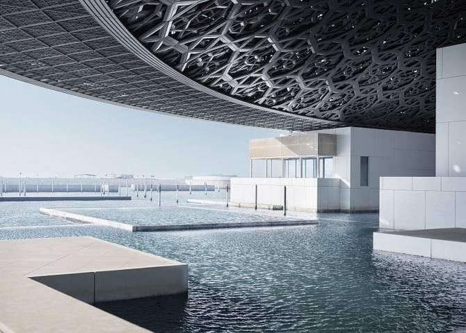 Louvre Abu Dhabi Kajak