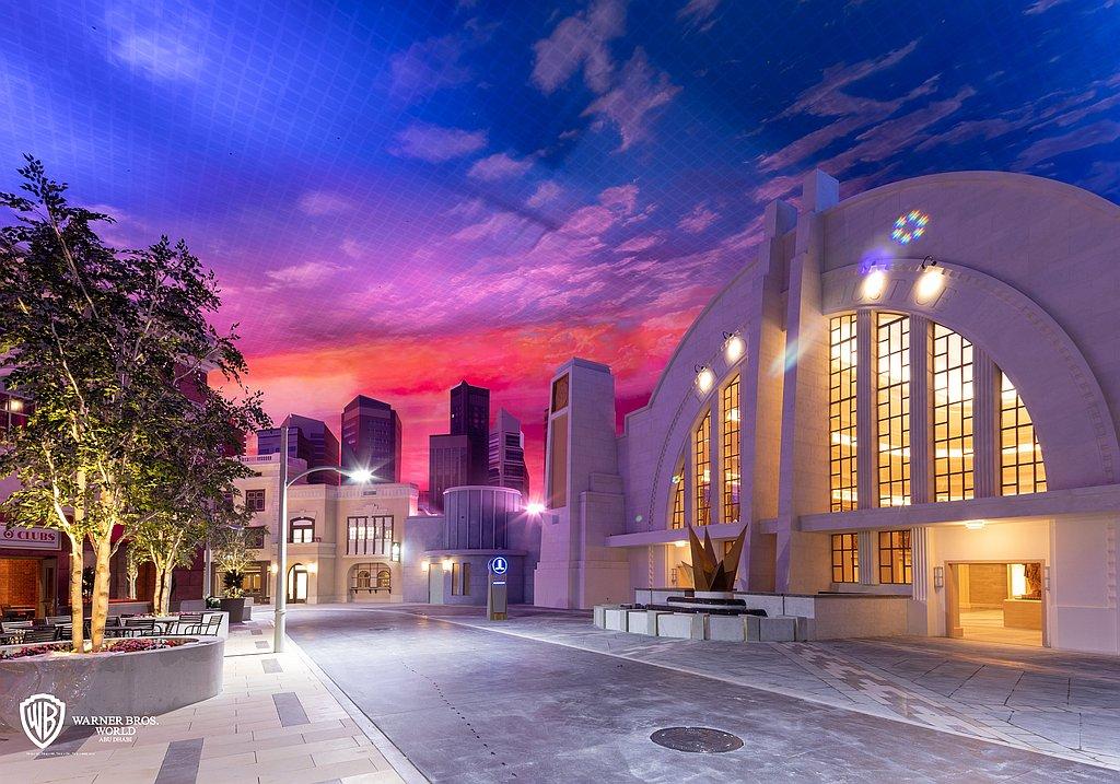 Warner Bros. World Abu Dhabi metropolis