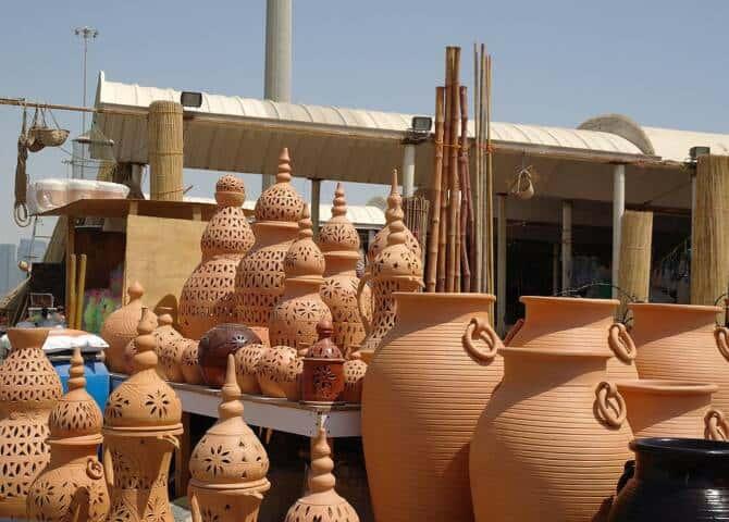 Verkaufsstand Mina Markets Abu Dhabi