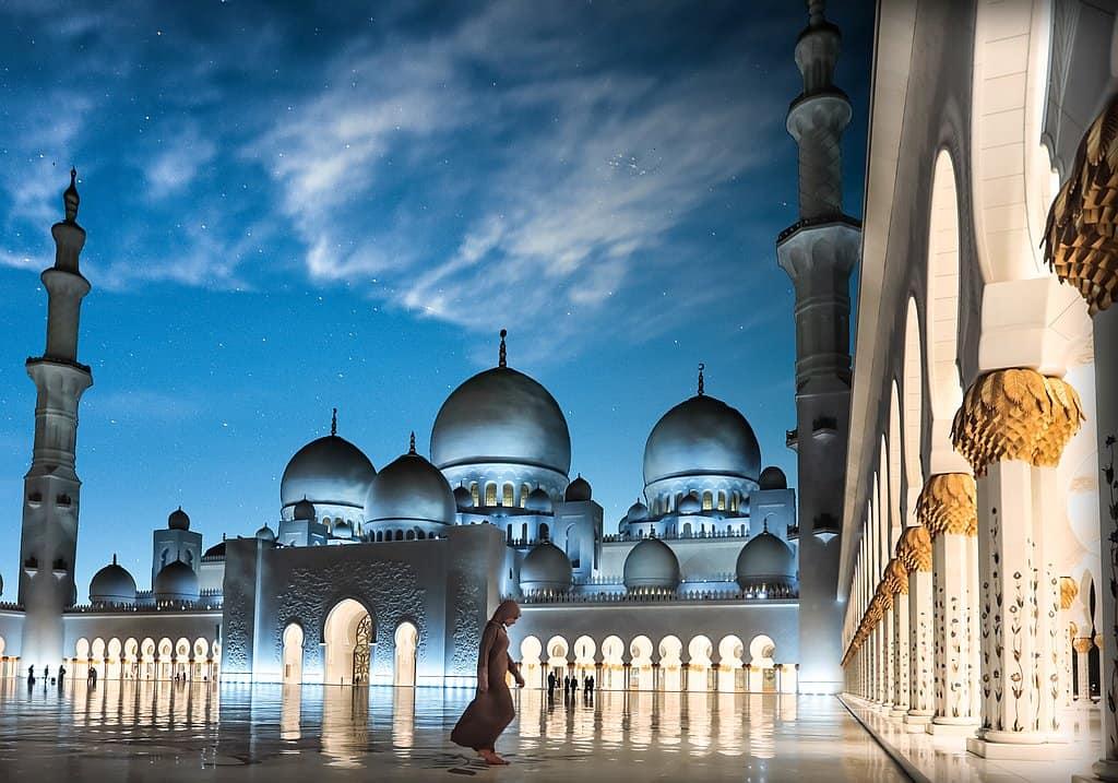Abend Moschee AUH