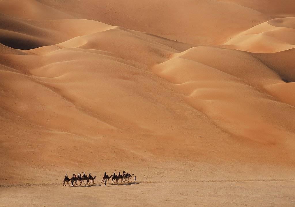 Sanddünen Rub Al Khali