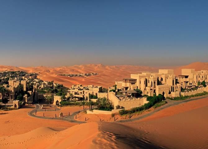 Qasr Al Sarab Desert Resort Abu Dhabi