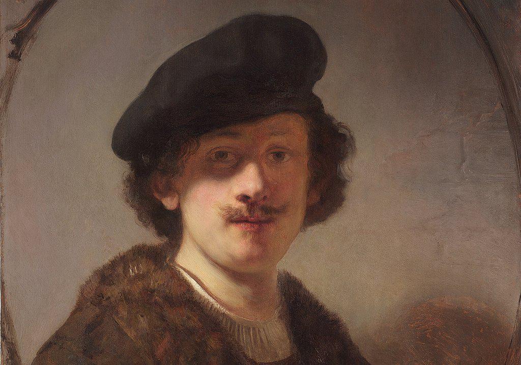 REmbrandt Portrait im Louvre Abu Dhabi