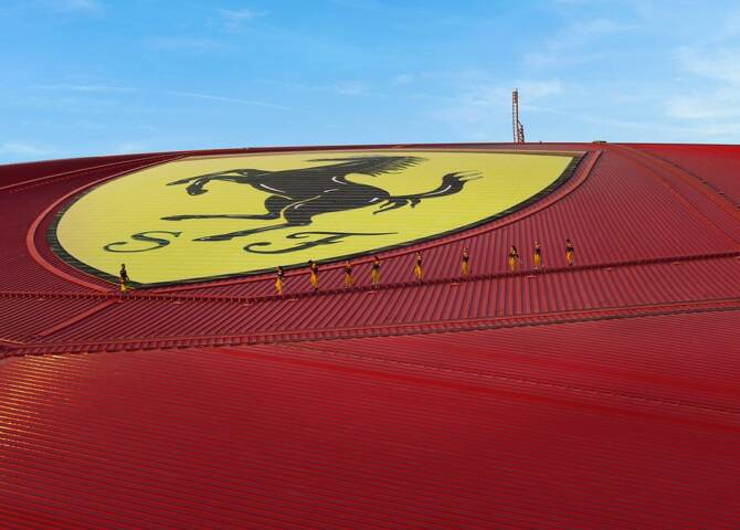 Roof Walk Ferrari World