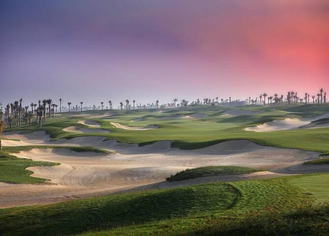 Golfclub Saadiyat Island Abu Dhabi