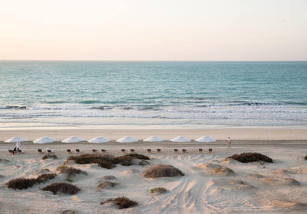 Strand Abu Dhabi