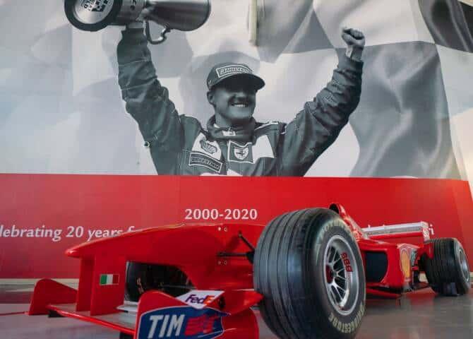 Schumacher Rennauto 2000