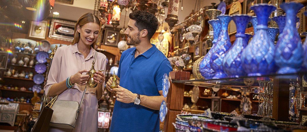 Einkaufen in Abu Dhabi