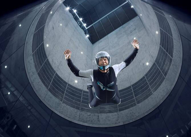 Skydiving CLYMB Abu Dhabi