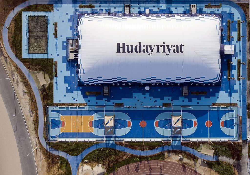 Sporthalle Abu Dhabi
