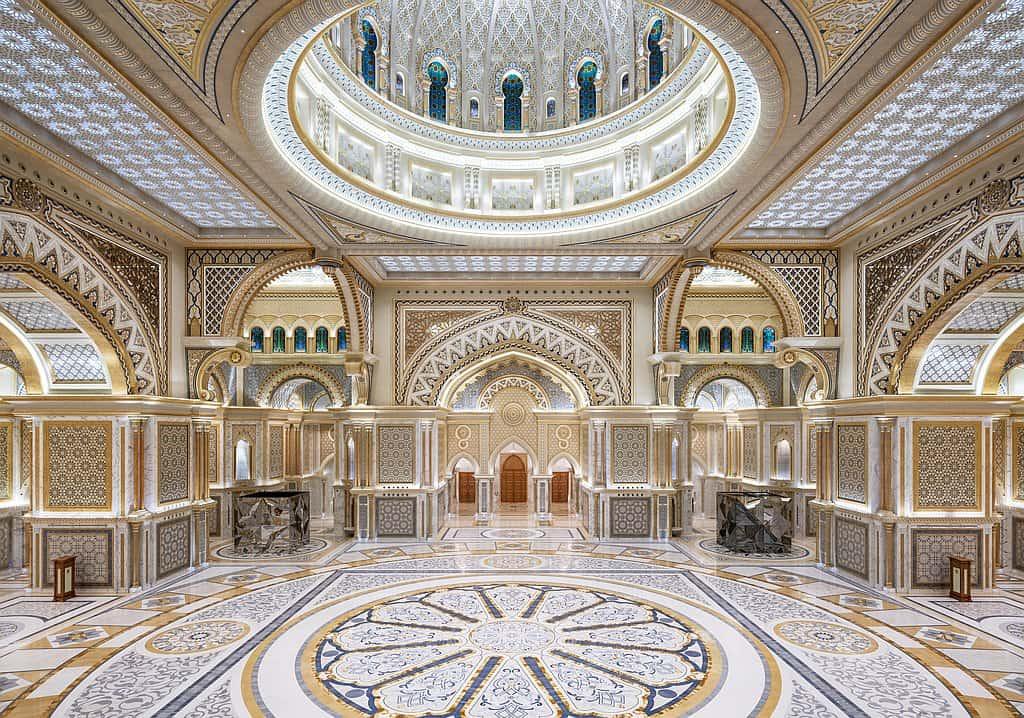 Eingangshale Palast